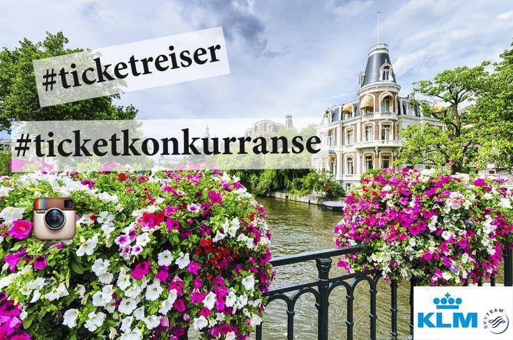 Vinn flybilletter til Amsterdam!