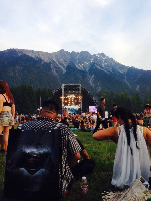 Pemberton Music Festival! You can't beat the scenery or the music❤️ #SouthernRecipeSmallBatch