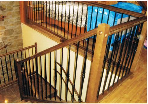 14 best wrought iron balusters images on pinterest iron for Escaleras yuste