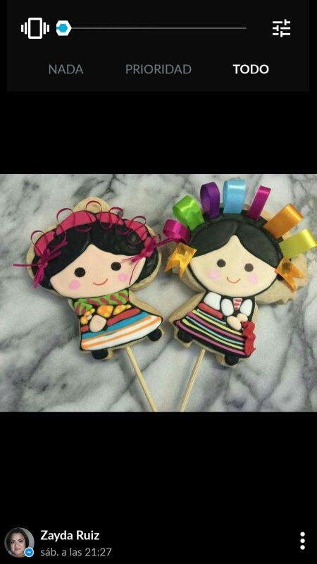 Las niñas mexicanas hechas por clientas