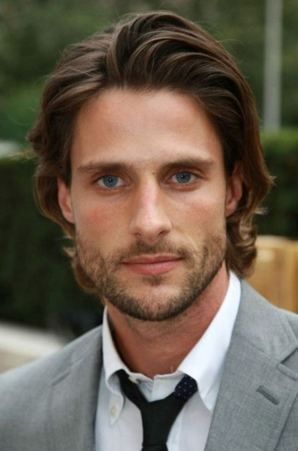 Medium Straight Hairstyles For Guys : The 25 best long hairstyles for men ideas on pinterest