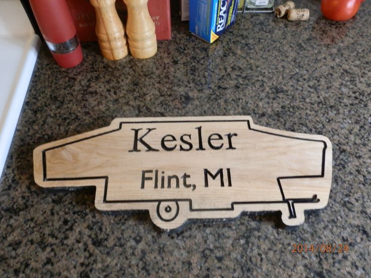 Get the best deals for tent trailer shaped, personalized carved wooden sign here - Product https://www.etsy.com/listing/204302630/tent-trailer-shaped-personalized-carved?utm_source=mento&utm_medium=api&utm_campaign=api  #housewares #homedecor