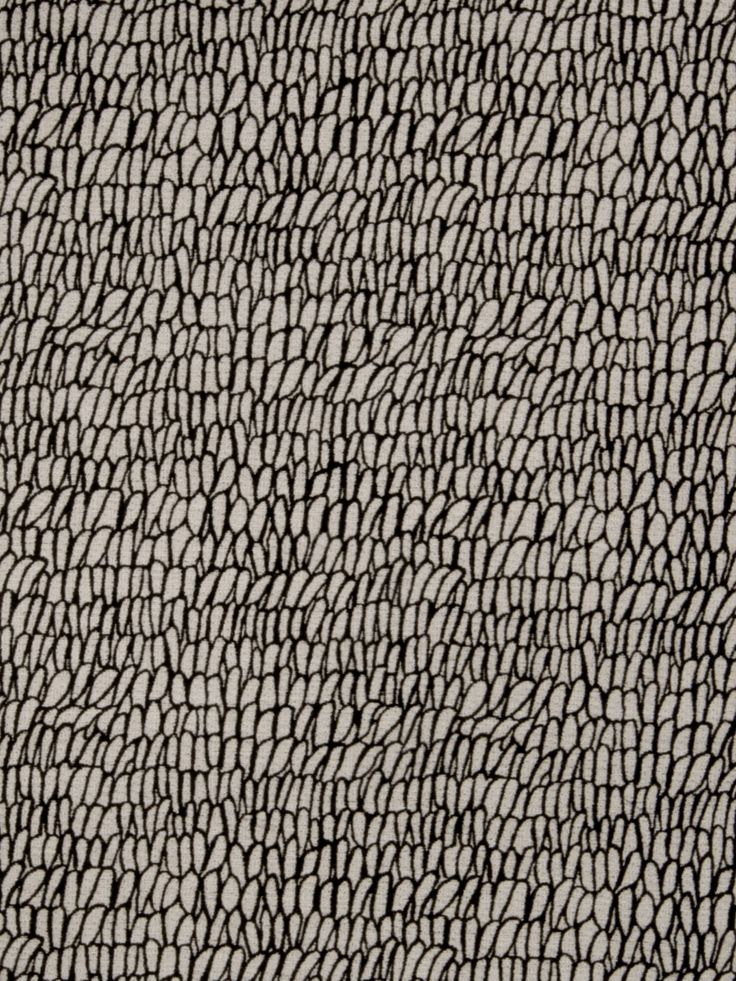 Kukui Peppercorn fabric // I want this to be a rug so bad!