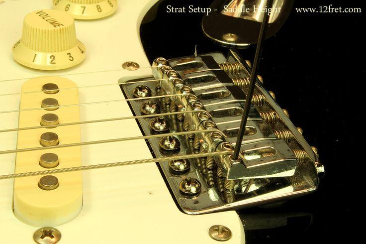 stratocaster setup guide gitaren pinterest articles. Black Bedroom Furniture Sets. Home Design Ideas