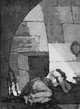 La prisionera/ Los Caprichos 82/85 Francisco de Goya