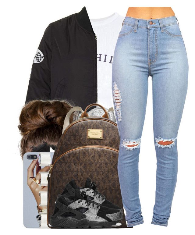 """""""Young Thug / Bestfriend"""" by nasiaamiraaa ❤ liked on Polyvore featuring mode, Wildfox, Topshop, Michael Kors, Maison Margiela, MICHAEL Michael Kors, NIKE et NanaOutfits"""