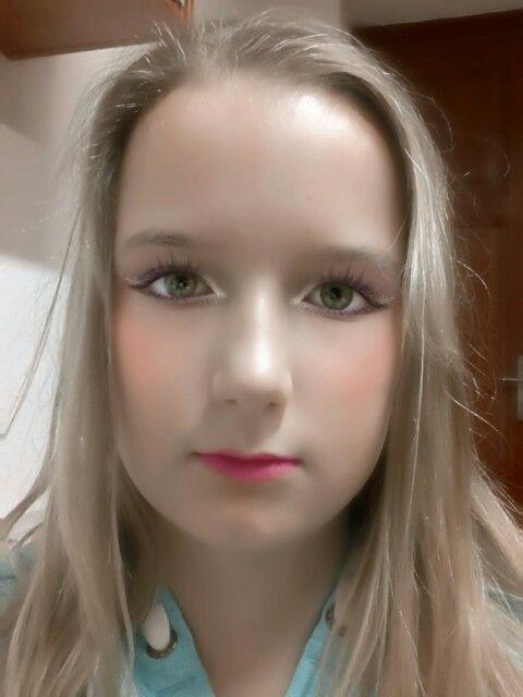 Me make up (môj mejkap) :-D