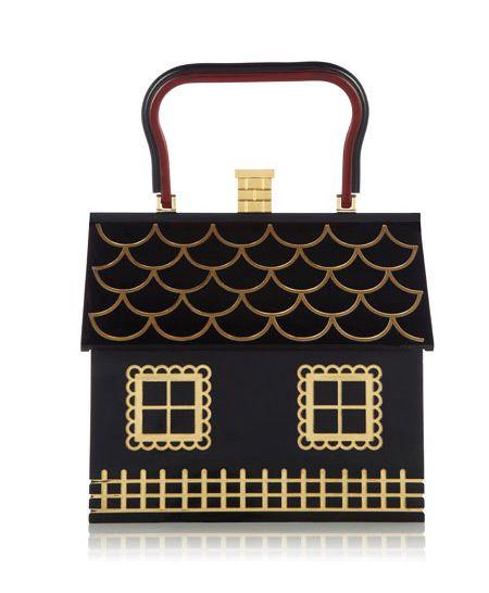 House handbag. So cute! - Charlotte Olympia 'Fairy Tales' Bags | Tom & Lorenzo