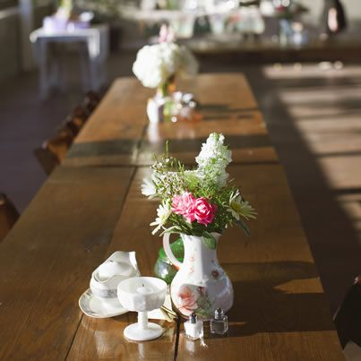 Exclusive: Sarah Darling's Wedding Diary -- The Flowers & Decor