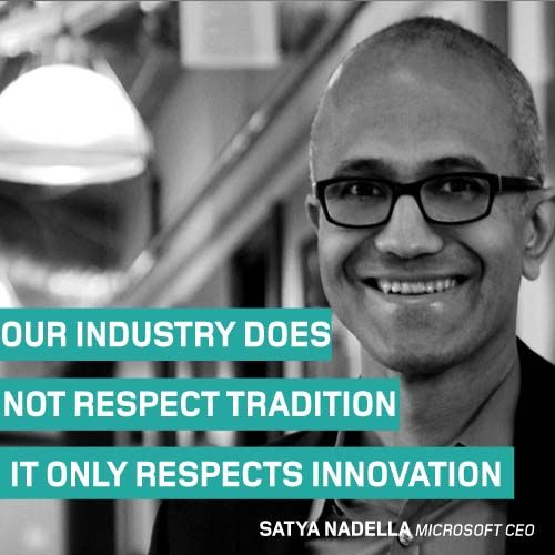 The #ThoughtOfTheWeek for May 25 is from Satya Nadella