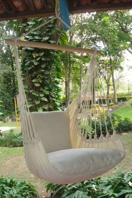 - Beautiful Extra Large Hammock Chair That is Mold and Fade Resistant - Made From Organic Cotton - Artisan Hand Crafted Fabric to Last for Years of Enjoyment - Includes Two Matching Pillow Shams (Requ