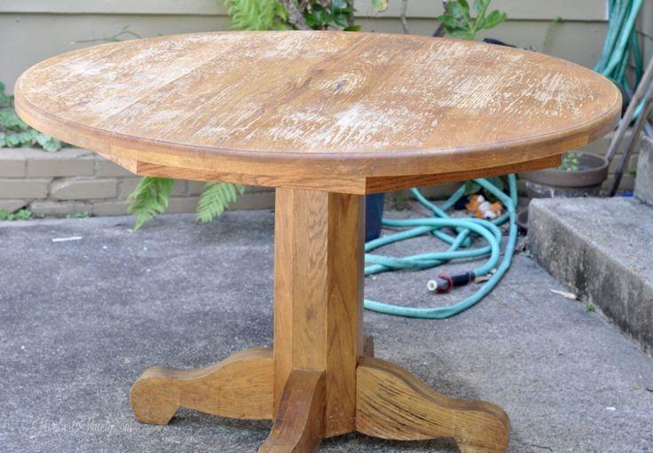 Best 25 Painted Oak Table Ideas On Pinterest Round Oak