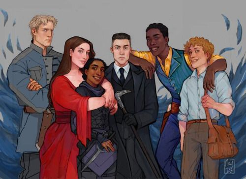Six of Crows group