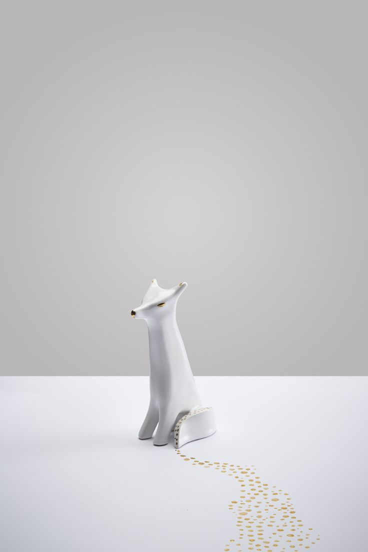 Fox / Lapinska Porcelain / photo Jan Kriwol www.lapinska-porcelana.com