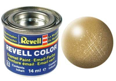 From 1.36 Revell Enamels 14ml Gold Metallic Paint By Revell Enamels