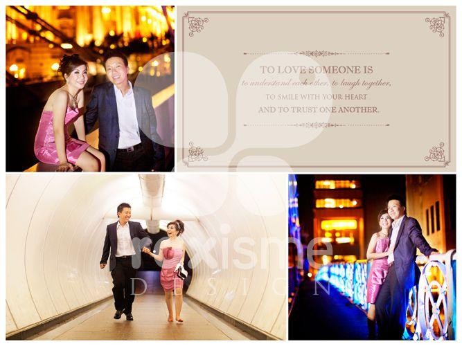 Pre Wedding Book Layout Design by Dwi Irawati at Coroflot.com