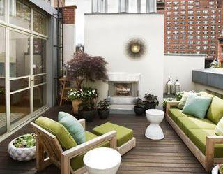 Fotos de terrazas terrazas y jardines modelos de - Jardines de casas pequenas ...