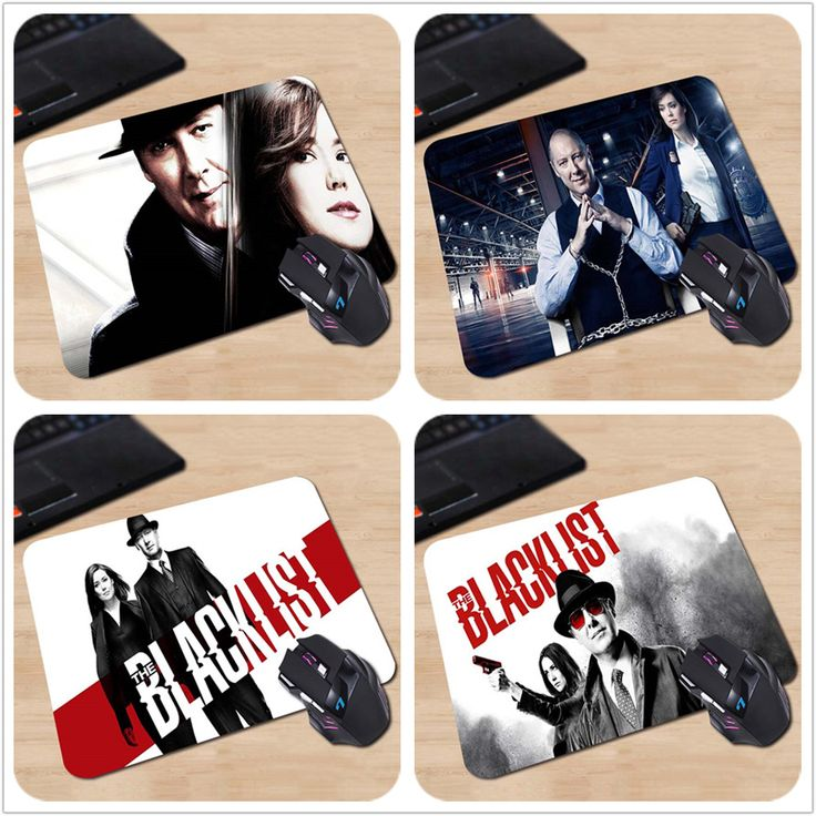 Popular NBC TV Show The Blacklist Hit Man  Spader Create Your Own Style Vintage Mouse Pad Computer Laptop Custom-made Mouse Mat