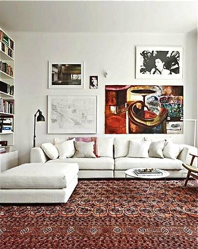 61 Best Oriental Rug Decor Images On Pinterest Living Room Red Persian Rug Living Room And