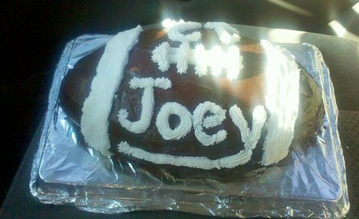 Birthday Cake for Joey