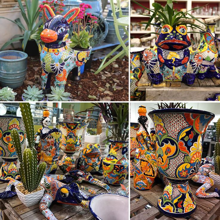 Mexican Talavera Pots and Homewares - Poppy's Home & Garden