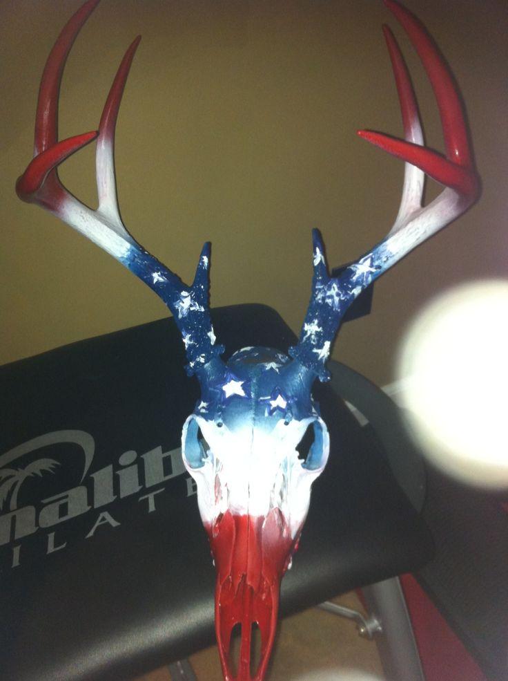 Best 25 Deer Skull Decor Ideas On Pinterest