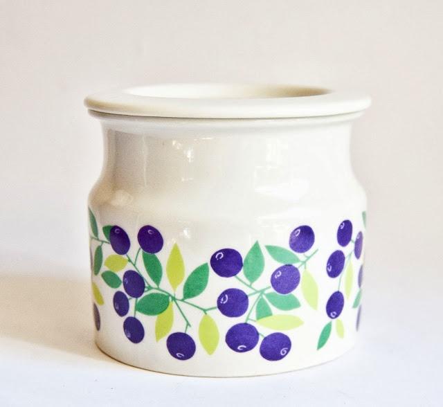 Arabia Blueberry Jar