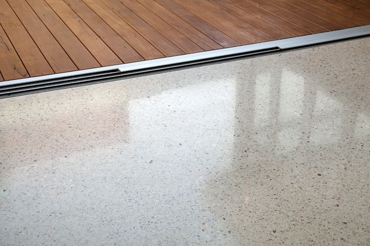 Polished concrete: colour & amount of aggregate exposed