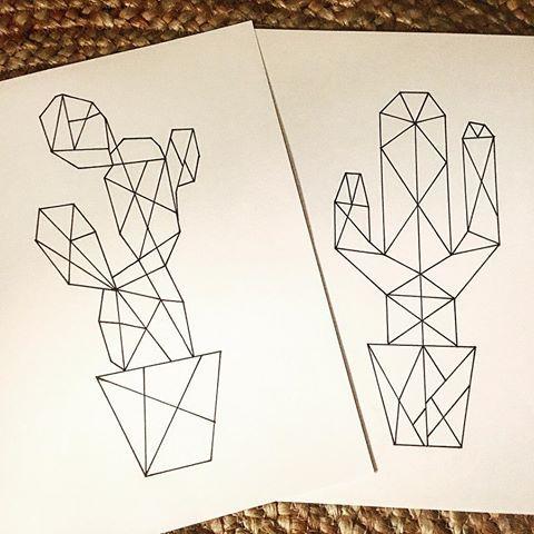 Cactus origami   #cactus #cactusaddict # #dessin #dessinorigami #origami #cactusorigami #dessincactus #draw #drawing