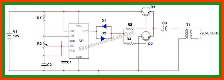 Simple Electric Shock Gun Wiring Diagram Schematic Panel Switch