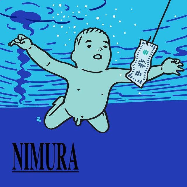 NIMURA - tribute to NIRVANANimura daisuke Instagram