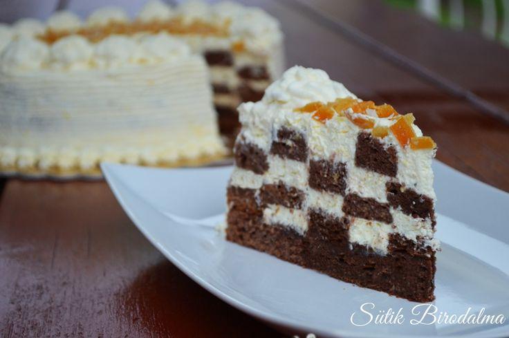 SÜTIK BIRODALMA: Különleges narancsos torta