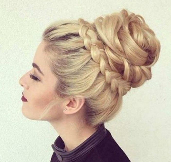 43 Cutest Trendy High Bun Up Do Hairstyle For You May Love Hairstyle 38 Long Hair Styles Hair Styles Short Hair Styles Easy