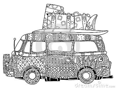 Image Result For Adult Coloring Pages Volkswagen Bug