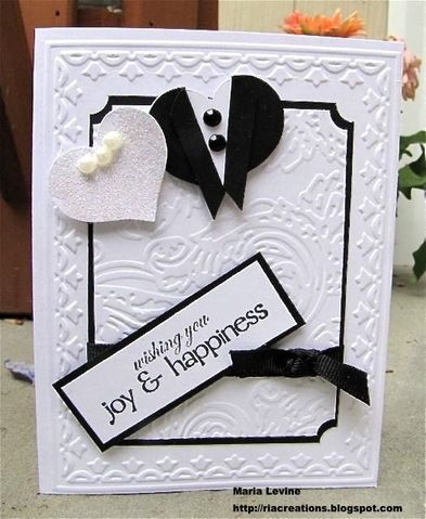 Really clever wedding card idea!