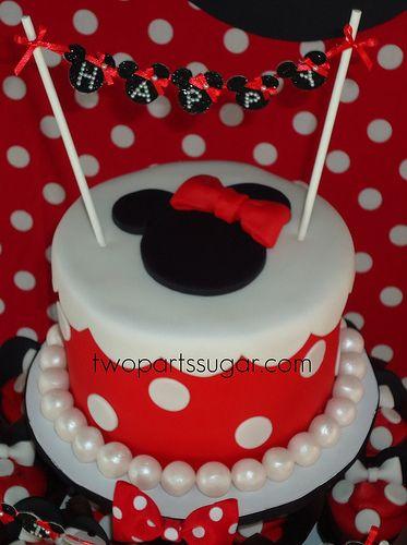 Minnie cake | Flickr - Photo Sharing!