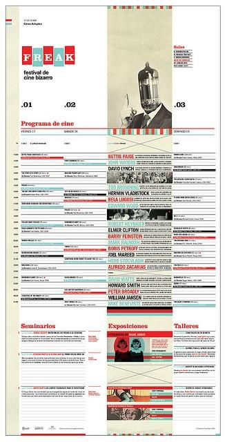 Bizarre Film Festival Schedule