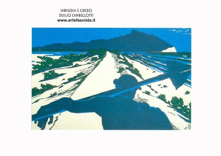 duilio cambellotti | Sabaudia - Duilio Cambellotti