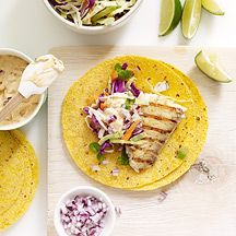 I LOVE fish tacos. Cannot wait to try this WW recipe for Tilapia Tacos with Chipotle Aioli.