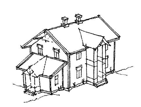 Tilbygg på gamle hus