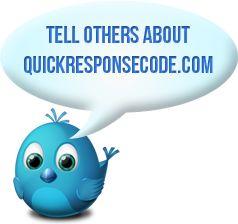 QR Code Generator, Free QR Code Generator, Free QR code >> QR Code Generator --> www.quickresponsecode.com