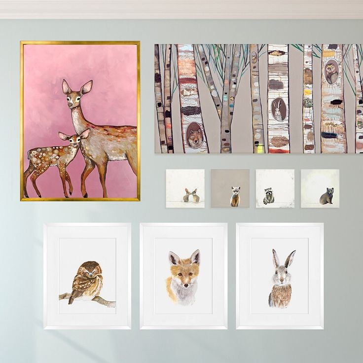 Shop Woodland Wall Art For Nurseries And Kids Rooms From Oopsy Daisy, Fine  Art For