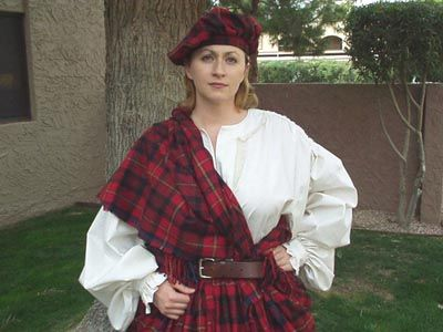 historical scottish women | ... : Women's Scottish Outfits > Women's Scottish Heritage Arisaidh