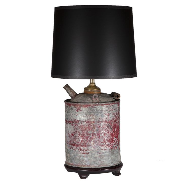 Items Similar To Lighting Rustic Chandelier Vintage 1920 S: Vintage Rustic Gas Can Lamp