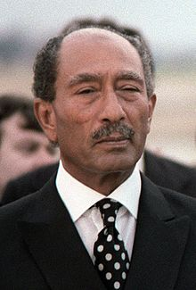 Anwar El Sadat. 25 Dec. 1918 – 6 Oct. 1981) was the third President of Egypt, serving from 15 Oct. 1970 until his assassination by fundamentalist army officers on 6 Oct. 1981. In his 11 years as president, he changed Egypt's direction, departing from some of the economic and political principles of Nasserism by re-instituting the multi-party system, and launching the Infitah economic party. He won the Nobel Peace Prize. He was assinated Oct. 6, 1981. Personal Hero.