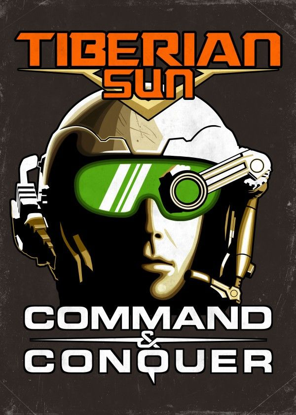 Tiberian Sun Commander - Design inspired by the cover art for the classic real time strategy video game command and conquer Tiberian Sun. https://displate.com/displate/201648  | cnc, c&c, c and c, command and conquer, rts, westwood, tiberian sun, commander, tiberium wars, graphic design