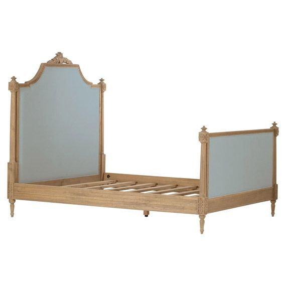 Chevalier Weathered Oak King Size Bed