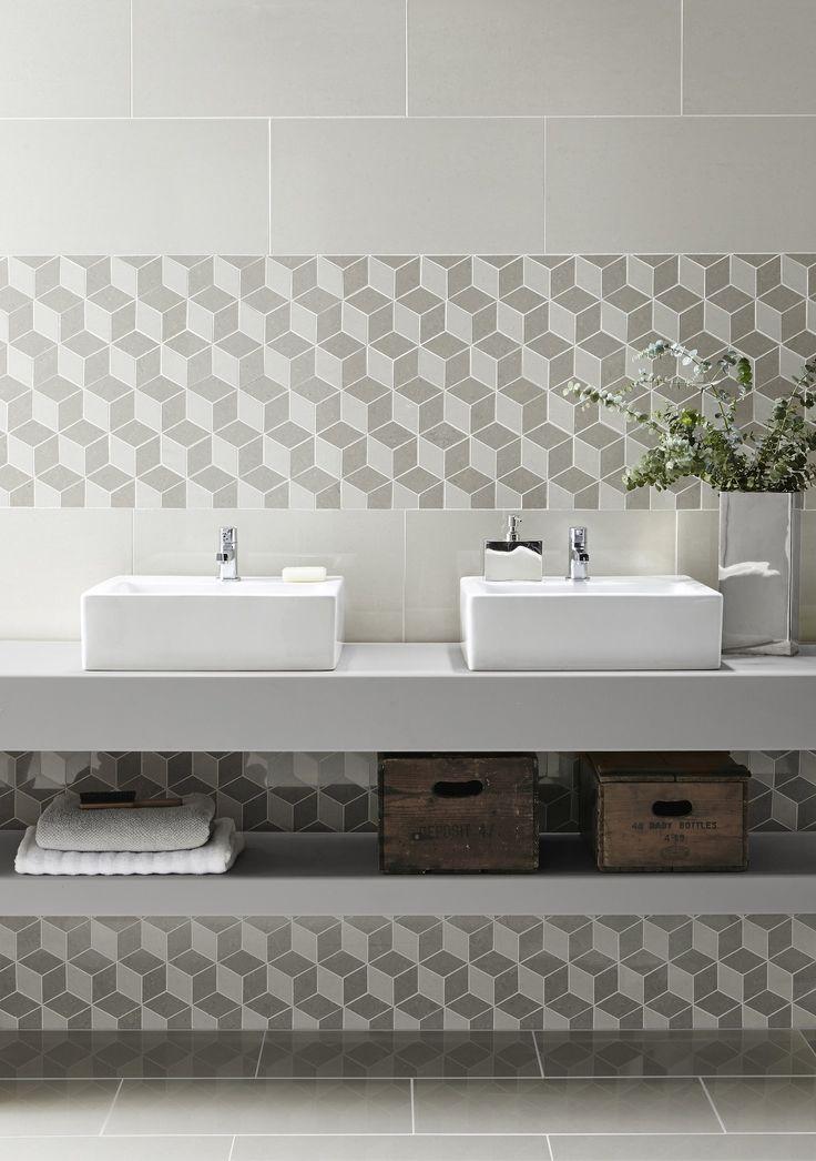 Regal Cubis Mosaics Bulles et mosaïques – La touche d'Agathe – salles de bain, bathroom, bath, bain, shower, sink, lavabos, towel, serviettes, vanity, galets - toilet toilettes
