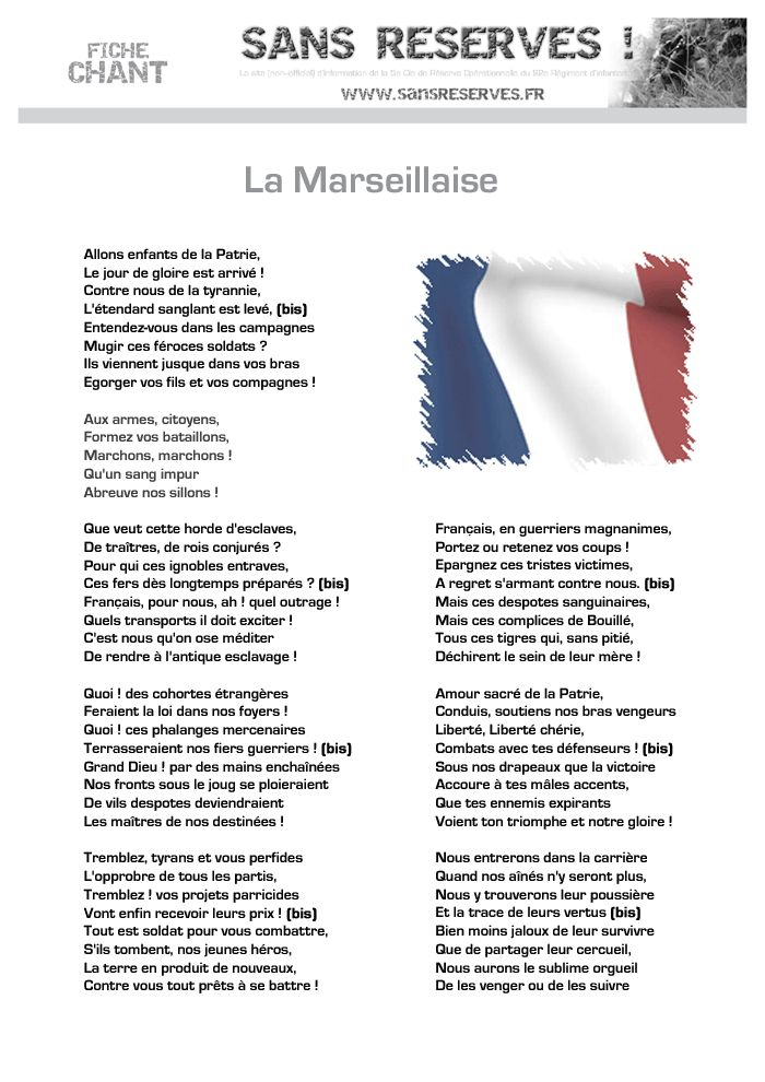 25 b sta paroles marseillaise id erna p pinterest partition accord on partition musicale. Black Bedroom Furniture Sets. Home Design Ideas
