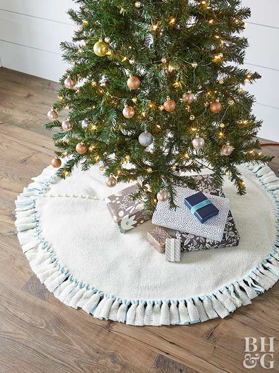 Christmas Tree Skirt Ideas Christmas Projects Diy Holiday Style